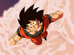 Goku remake by AhmadEdrees