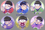 New Oso Buttons by SoloAzume