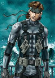 Solid Snake by Autumn-Sacura