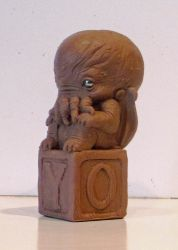 Cthulhu Baby by TKMillerSculpt