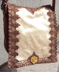 Lace Bag by VictorianRedRose