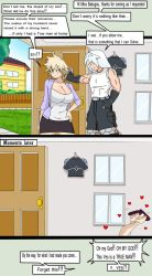 The New Neighbor - With  Mrs. Mitsuki Bakugo by Daywalkerrl