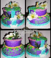 Tinkerbell Cake by Terrauh
