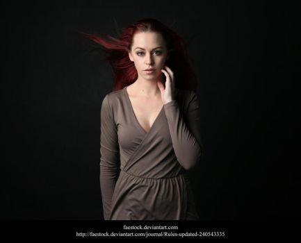 Studio portrait 6 by faestock