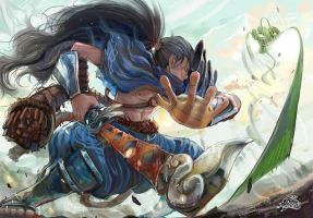 Yasuo by DemonG3