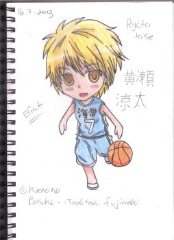 Another Chibi Kise by GeekyEffy