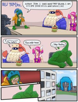 Adventures In League by leung2961