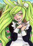 ART FIGHT ACEO Mimi by nickyflamingo