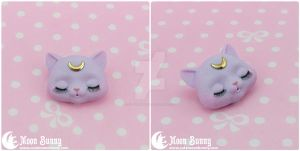 Dreamy moon cat Brooch 2 by CuteMoonbunny