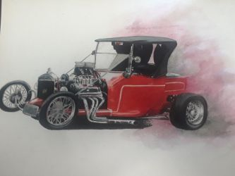 Late 20s Model T Ford  by captaincrunch1950