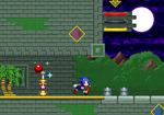 Sonic Mania Styled Casino Forest by weegeeguy01
