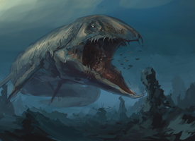 Monster of the deep by HeadcrabeD
