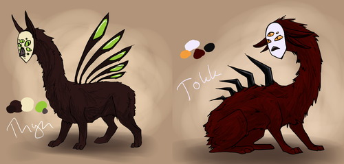 Thyn and Tokk by Dinaria