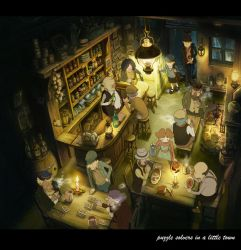 Puzzle Solvers In A Little Town by Ayerslibrary