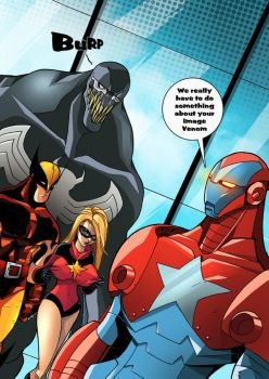 DarkAvengers Publicty by TheBoo