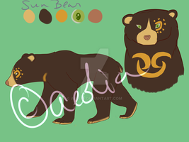 146 - sun bear by AE0LIA