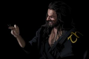 Thorin Sketch by loladrawsthings