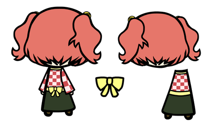 Kosuzu Back Prop Set by Reimu-and-Cirno