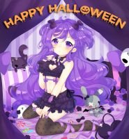 HAPPY HALLOWEEN GIRUTEA!!!! by Sueweetie