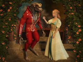 Beauty and the Beast by ravenscar45