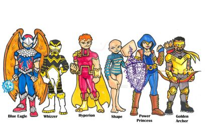 Squadron Supreme Redesign by 12for12