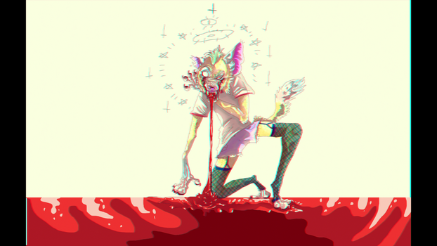Vomiting your guts to look cool by FunnyGoatPerson