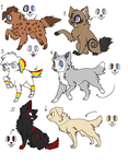 Point Adoptables (Closed) by vega37