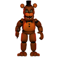 Unwithered freddy 3 by 133alexander