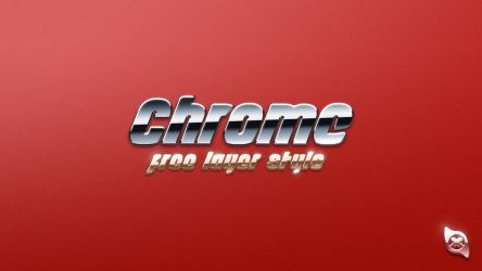 Chrome Layer Style -FREE- by Xiox231