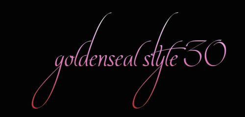 Goldenseal Style 30 by goldensealgraphic