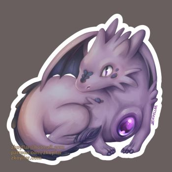 Baby dragon by zkoyllar