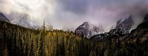 The Moody Rocky Mountains by AugenStudios