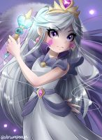 Moon Butterfly by DaintyHyacinth