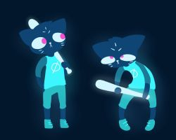 Night In The Woods by Angel--Tale