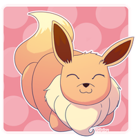 Sleepy Eevee by Alolan-Vulpixy