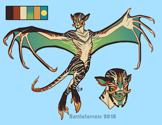 Incubus Adoptable (CLOSED) by Battleferrets