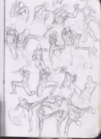 Muay Thai Studies 2 by Betterifimdeath
