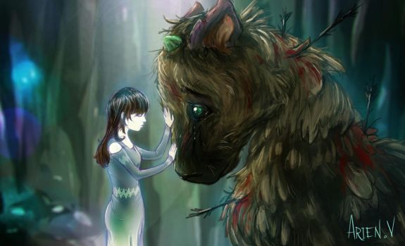 Trico and Yorda by therealarien
