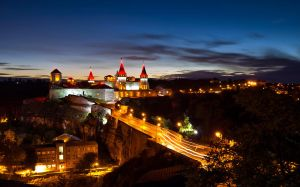 Kamianets-Podilskyi castle by oktis