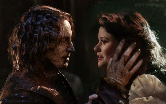 No words. Just touch. Just look. by RumbelleFairytale