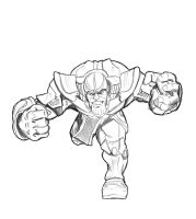 Thanos-lines by jksketch