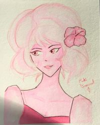Pink Diamond doodle! by Miss-Incognito