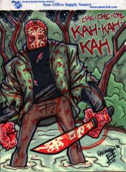 Jason Voorhees Legal Paddin by juniorbethyname
