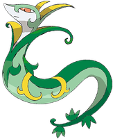 Serperior Drawing by mehthisislame