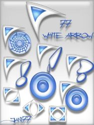 77 white arrow by jani77