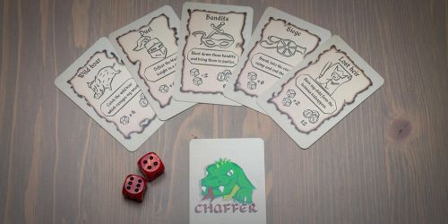 Chaffer Playing Cards by Be-Liebig