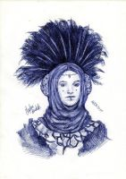Queen Amidala Ballpoint Pen by AngelinaBenedetti