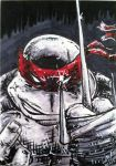 TMNT Ralphael Sketch Card by FWACATA