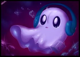 The napstablook by Chibigere