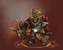 Dinomancer Rexxar by Ashelflaed